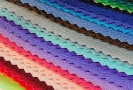 Dot coated knitted hosiery fabric