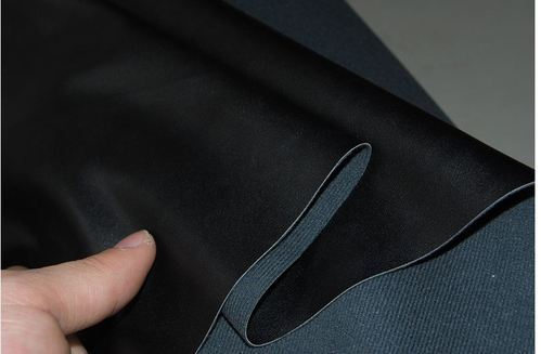 Synthetic leather backing substrate