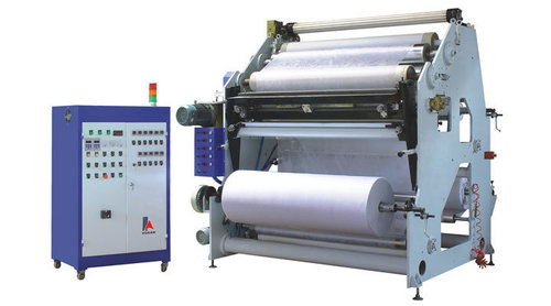 Hot melt coating and lamination plant