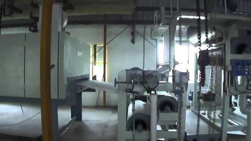 Pvc coating line