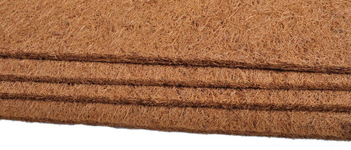 Coir felt without latex
