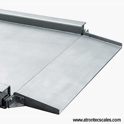 Floor Scale Stainless Steel Design Low-Profile Platform