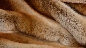 knitted fur fabric