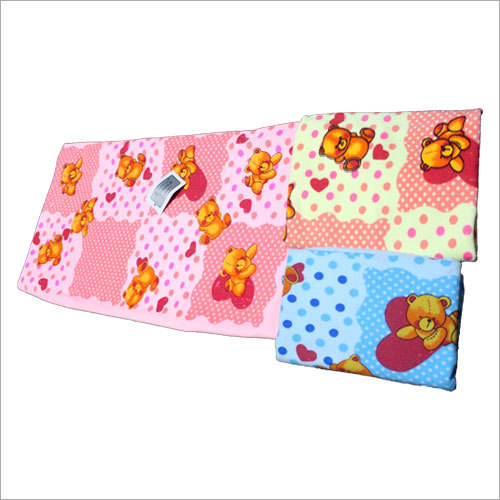 Bear Printed Baby Towel