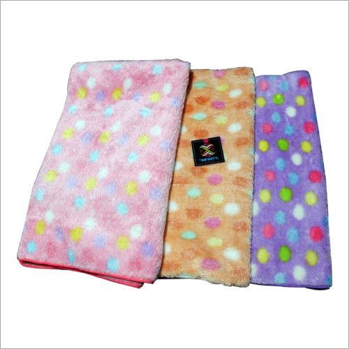 Polka Bath Towel