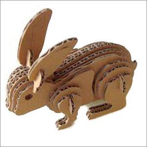 Paper Rabbit Sculpture