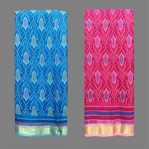 Fancy Cotton Designer Saree