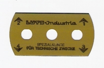 Lutz Germany Industrial Blades and Knives