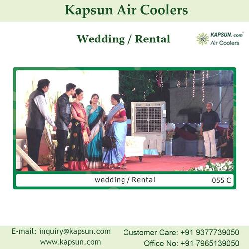 Industrial Commercial Air Cooler used for Wedding / Rental Area