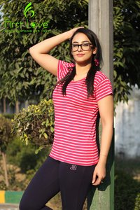 women fancy cotton top