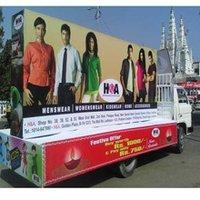 Display Advertising Unipole
