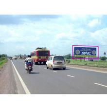 Highway Advertising Unipole