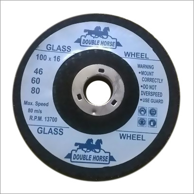 Double Horse Glass Grinding Wheel