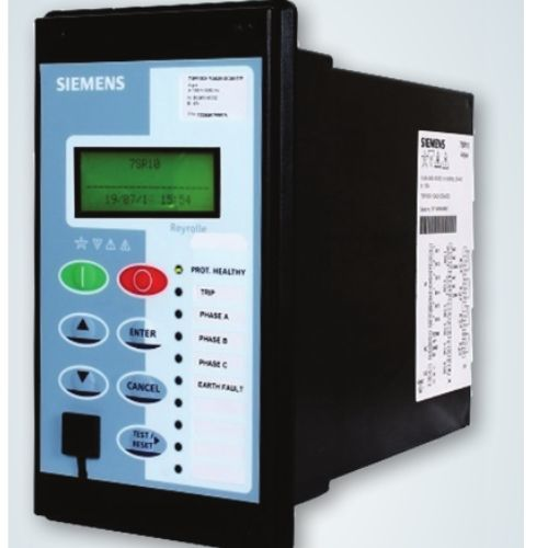 7SR10 Overcurrent Relay, Siemens Numerical Relay, Siemens Protection Relays