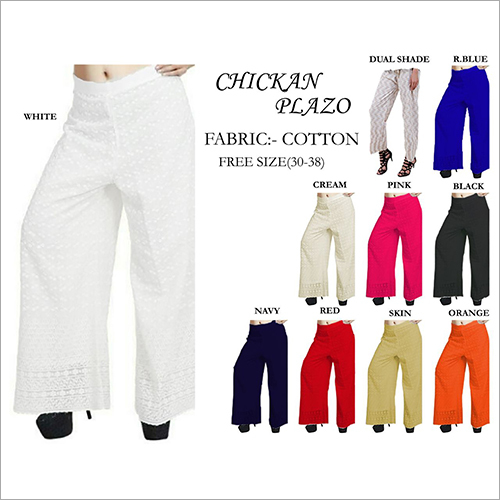 Netted Plazos Pants