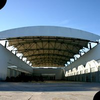 Advertising Industrial Roofing Structures