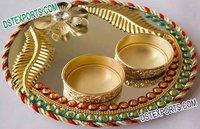 Wedding Golden Thali