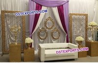 Latest Design Wedding Candle Back Walls