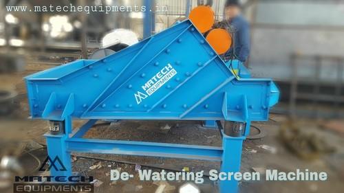De watering screen machine