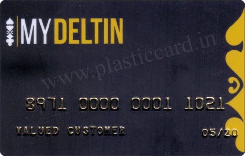 Embossed Plastic Cards