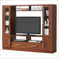 Wooden Designer TV Unit