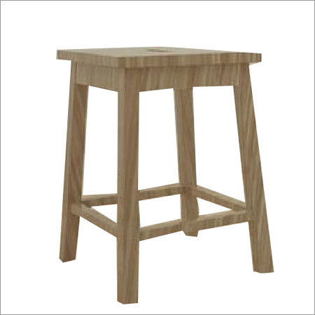 Laboratory Wooden Stool
