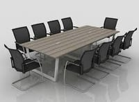 Wooden Conference Table