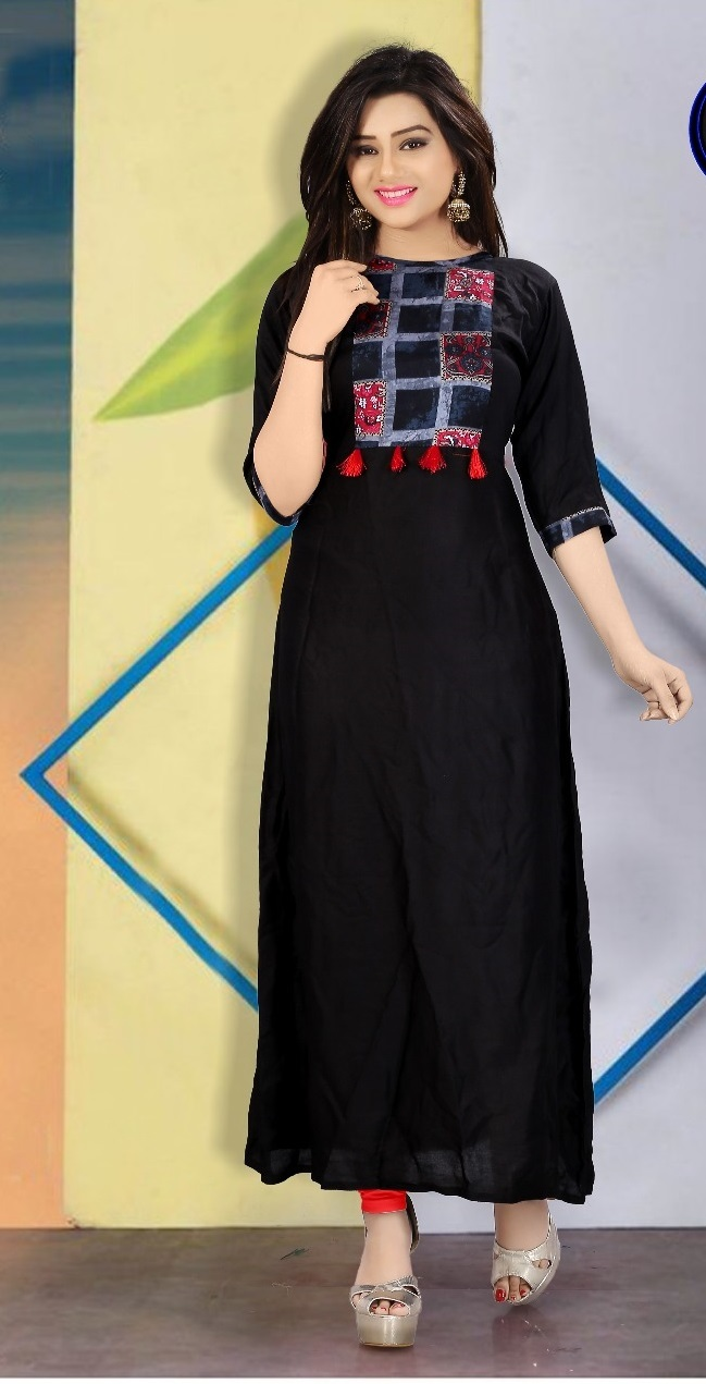 New Designer Rayon Kurti