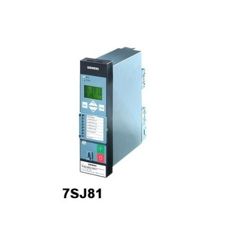7SJ81 Overcurrent Relay