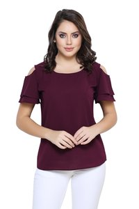 Designer cold Shoulder Top