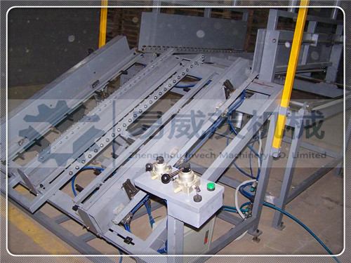 Wood Pallet Nailing Line