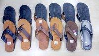 Branded Men Leather Slippers
