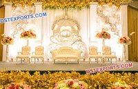 Wedding Stage English Cinderella Back Wall