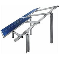Solar GI Module Mounting Structure