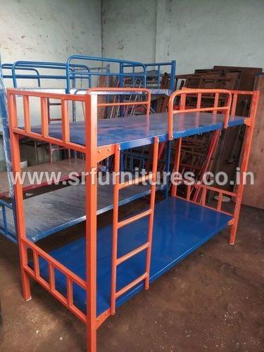 Orange and Blue Bunker Cot Bed