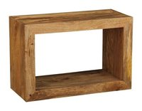 Wooden Rectangular Cubetable