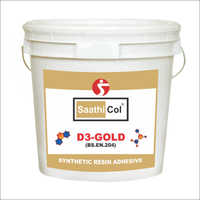 Gold Synthetic Resin Adhesive