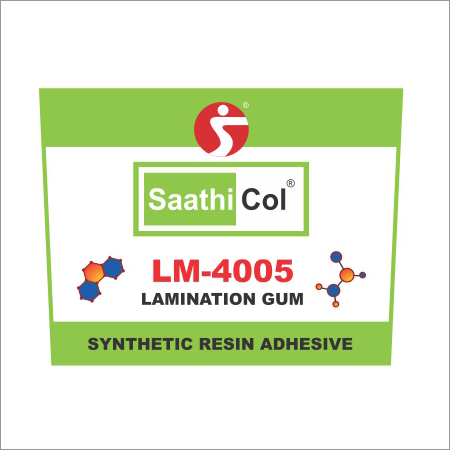 Lamination Gum Synthetic Resin Adhesive