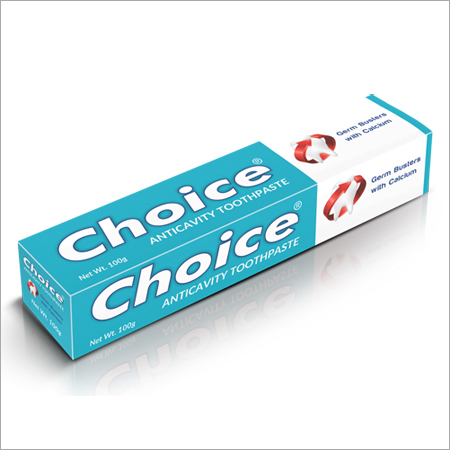 Choice Anticavity Toothpaste