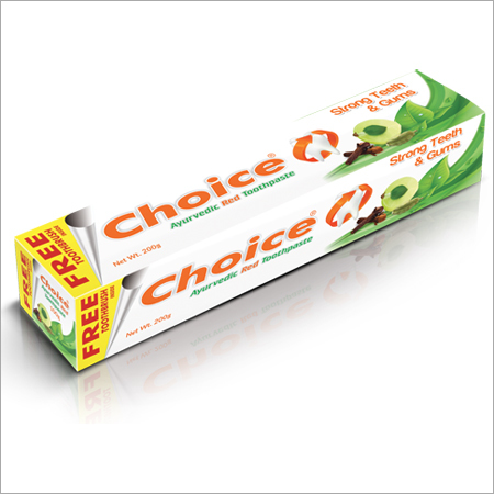 Choice Ayurvedic Red Toothpaste