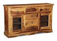 Wooden Jali Sideboard