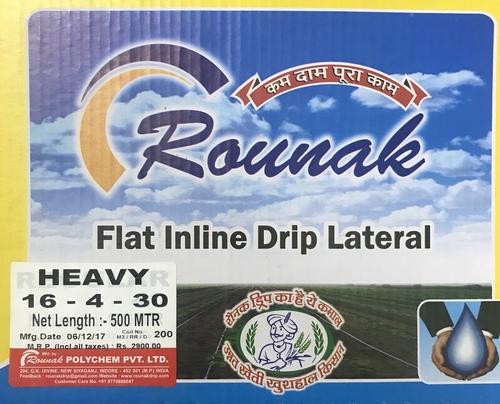 Flat Thimbak Drip Pipe - ROUNAK POLYCHEM PVT  LTD , 204-205, 2nd