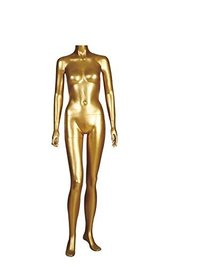 Female Headless Mannequin Golden Gloss FH03