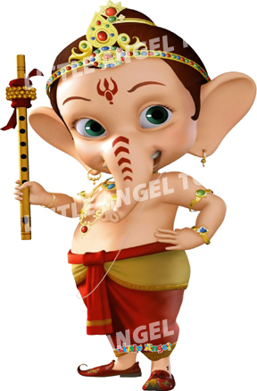 Wooden Ganesh Lord Toys