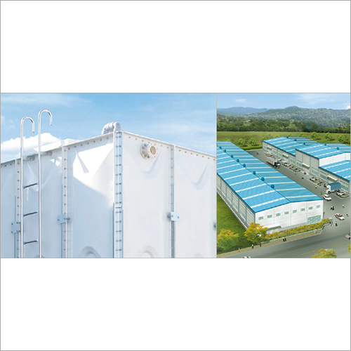 Grp Panel Tanks For Water Storage