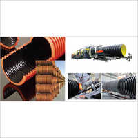 Dwc - Corrugated Pipes For Storm Water & Duct Applications