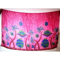Tree Printed Beachwear Pareos