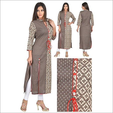 Priya's Straight Cotton Kurta