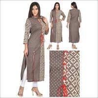 Priya's Straight Cotton Kurta