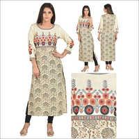 Priya's Designer Cotton Kurti